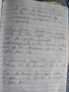 what's in a notebook 2 - Margaret Hawkins
