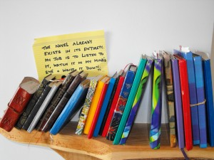 what's in a notebook 5 - Margaret Hawkins